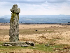 Horn's Cross, Dartmoor